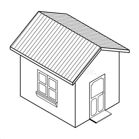 vector for free use 3d house icon vector 3d house icon vector stock vector illustration