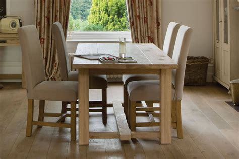 oak wood dining table the farmhouse oak dining table by indigo furniture
