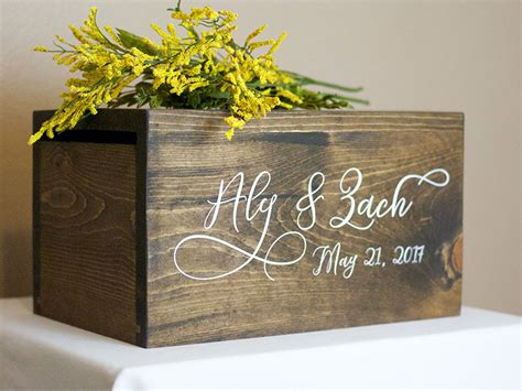 Wedding Card Box Not On The High by Wedding Card Box Money Box Rustic Wedding Rustic Card Box