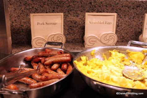 review new breakfast buffet at the wave in disney s