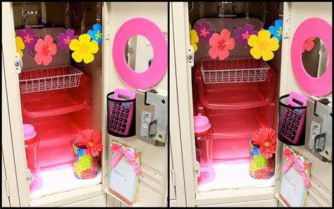 easy diy locker decorations ideas  teenagers