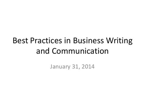 business letter best practices best practices in business writing and communication