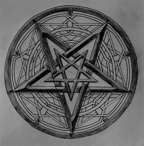 doodle pentagram pentagram dimmu borgir by moriartadragonheart on deviantart
