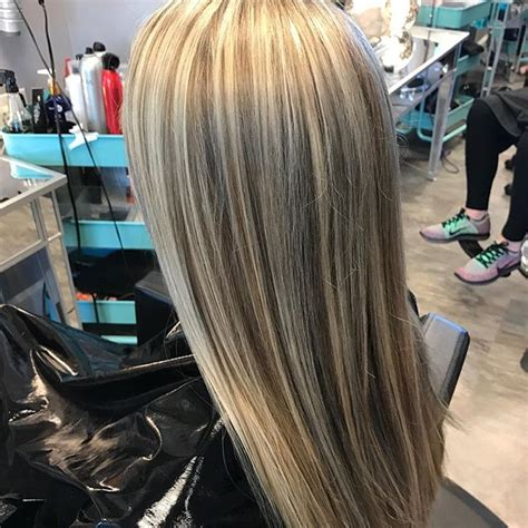 natural grey with high and lowlights hairbykialee twystsalon