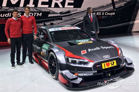Audi Motorsportchef by Bildergalerie Der Neue Audi Rs5 Dtm F 252 R Die Dtm Saison 2017