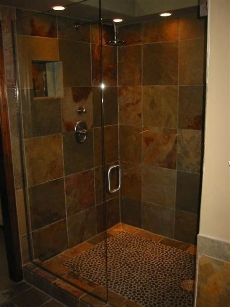 cheap bathroom shower ideas 25 best ideas about slate shower on pinterest slate