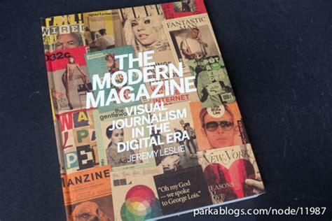 the modern magazine visual book review the modern magazine visual journalism in the