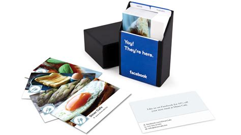 What Is A Facebook Gift Card - 30 unconventional business cards