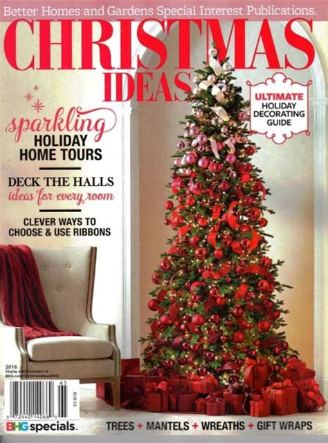 better homes and gardens christmas decorations christmas ideas 2016 better homes gardens special