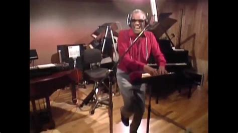 the world of charles ray charles recording for quot we are the world quot youtube