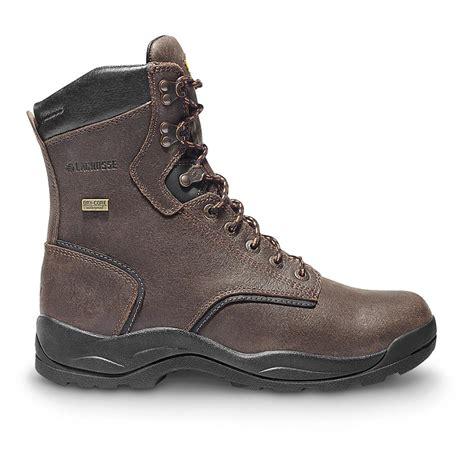 comfortable steel toe men s lacrosse quad comfort steel toe 8 quot 400 gram