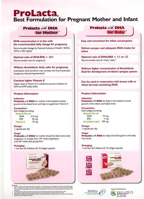 Prolacta With Dha For Baby 1 prolacta with dha for healthtree singapore fertility maternity health screening