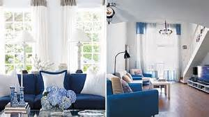 Blue And White Living Room Blue And White Living Room