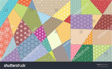 quilt pattern vector vector patchwork quilt pattern vintage decorative stock