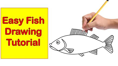 How To Draw A Small Fish