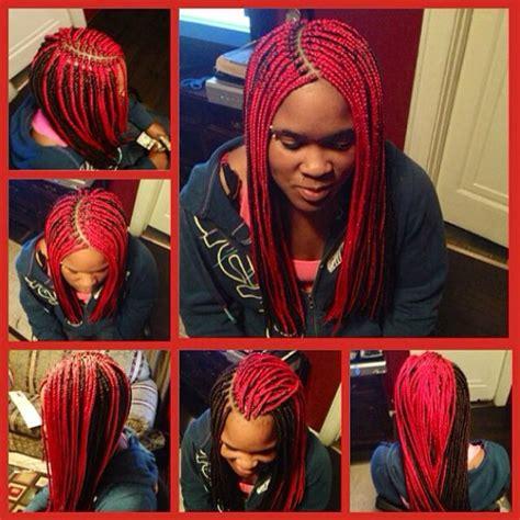 two toned braids medium two toned box braids w burned ends box braids