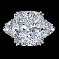 Cushion Cut Diamon Rings Cushion Cut Diamond Ring Bigham Jewelers Naples