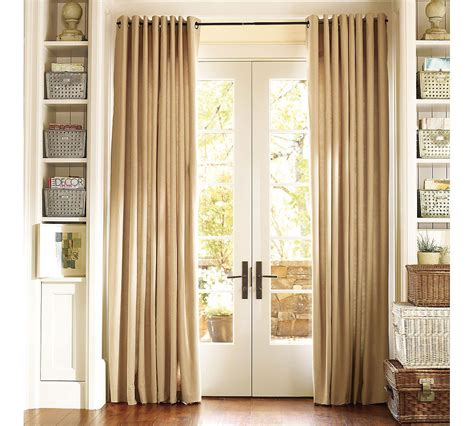 door window curtain ideas curtains for sliding doors with blinds