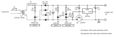 Modifying Cars For Dummies by 12v 2a Dc Power Supply Circuit Diagram Wiring Diagrams
