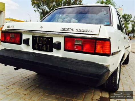 1982 Toyota Corolla Parts Toyota Corolla Gl 1982 For Sale In Islamabad Pakwheels