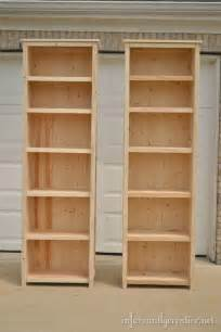 easy shelves to make how to make bookshelves