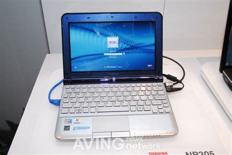 Touchpad Netbook Toshiba toshiba s new laptop mini nb305 with a size keyboard and touchpad