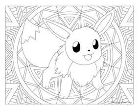 eevee coloring pages stunning brmcdigitaldownloads com