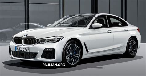2019 Bmw 3 Series G20 by 2019 G20 Bmw 3 Series Rendered Conjoined Kidney Grille