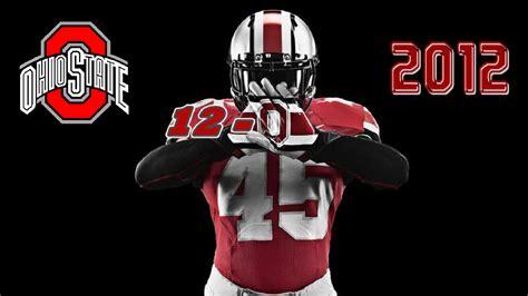 ohio state ohio state 12 0 2012 ohio state football wallpaper 32854436 fanpop