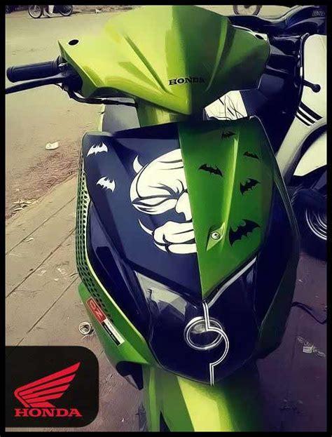 graphics design on honda dio honda dio stickering designs modified stickers graphics