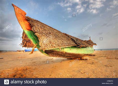 kerala fishing boat images kerala fishing boat on kovalam beach kerala india stock