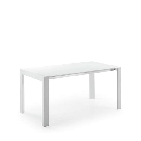 Table Blanche Extensible by Table 224 Manger Blanche Laqu 233 E Newport Extensible Par Drawer