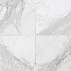 White Marble Floor Tile Calacatta Vision Polished Colisseum Marble Kitchen Bath Fabrication Installation