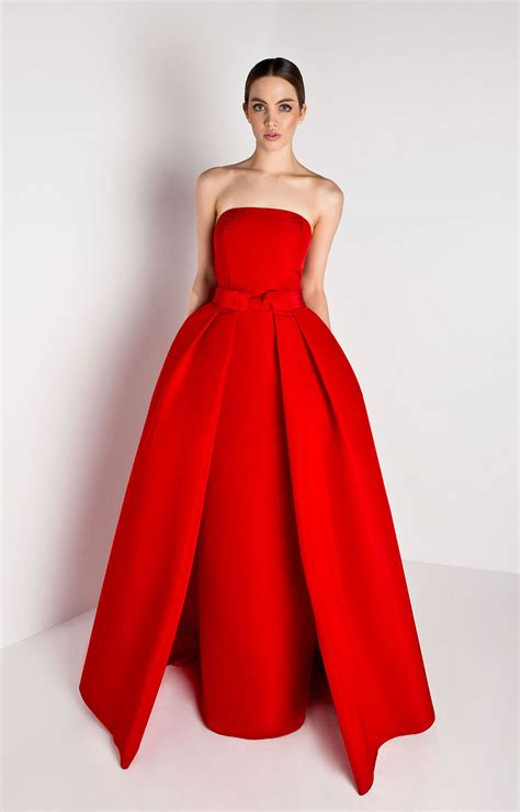 What Is A Bow Window strapless silk faille gown with convertible skirt alexia