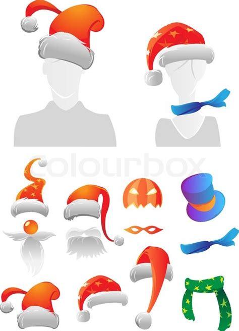 vektor illustration von cartoon halloween k 252 rbis weihnachten und halloween dekorationen vektorgrafik