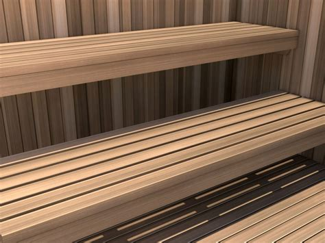 bathology surfaces 432 sauna room bench cedar 24