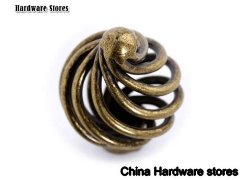 Antique Knobs For Furniture by Small Size Antique Brass Birdcage Furniture Drawer