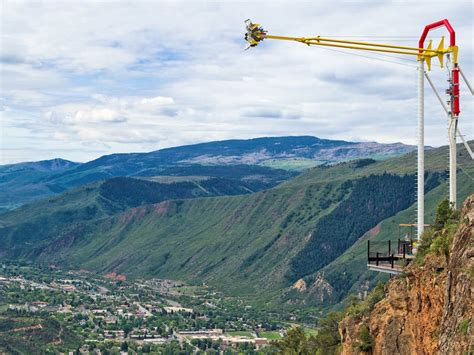 glenwood caverns adventure park swing cliffhanger high thrill in the rockies