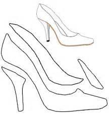 High Heel Shoe Template For Card by Find Card Ideas Where To Find Card Ideas