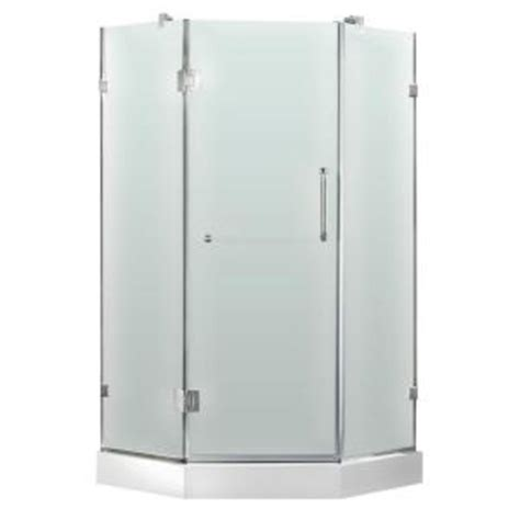 Home Depot Neo Angle Shower by Vigo 36 In X 78 In Frameless Neo Angle Shower Door In