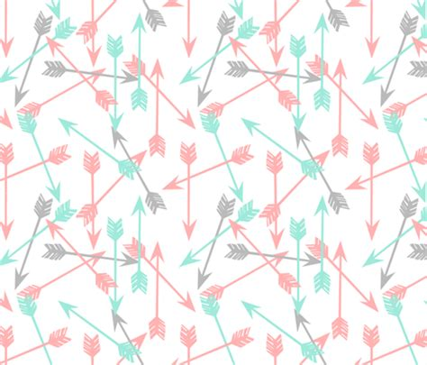 girly arrow wallpaper arrows scattered pink and mint scattered girly pastel
