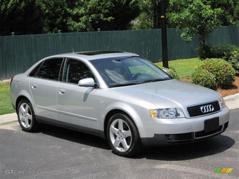 light silver metallic audi   quattro sedan