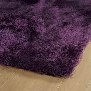 district17 purple posh shag rug shag rugs solid rugs