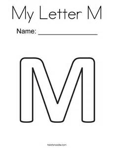 Letter M Template by Letter M Formal Letter Template