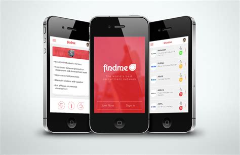 app design agency professional upmarket business app design for a company