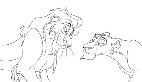 lion king coloring pages lion king zira coloring pages