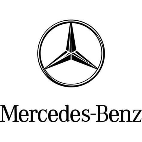 mercedes logo black and white mercedes decal sticker mercedes logo