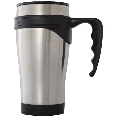 Fancy Coffee Mugs by New Azuma Double Wall Stainless Steel Thermal Travel Mug