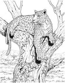 free coloring pages patterned animals
