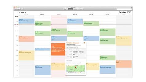 calendar design software for mac how to use the calendar in os x mavericks macworld uk